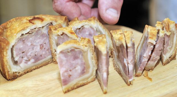 Pork pies are just some of the UK foods which enjoy protected status