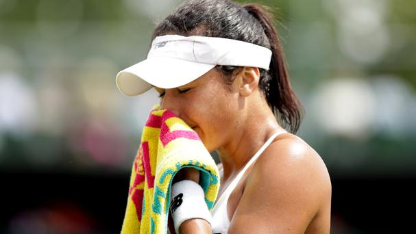 Heather Watson has criticised her big fine