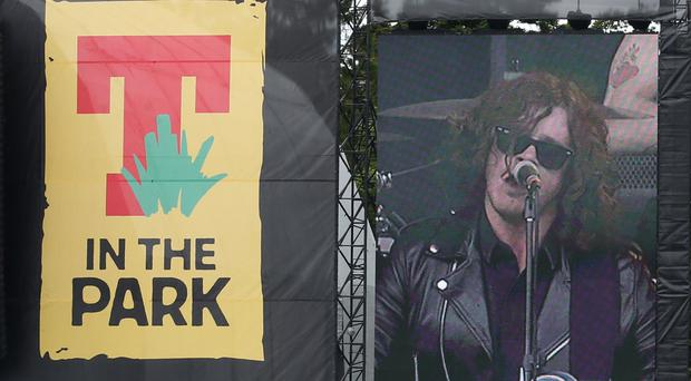 Two people have died at the T in the Park festival in Perthshire