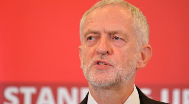 Jeremy Corbyn is a guest of the Durham Miners' Association