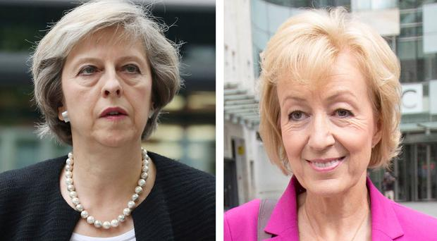 Theresa May, left, and Andrea Leadsom, are battling to become the next leader of the Conservative Party - and also the next prime minister