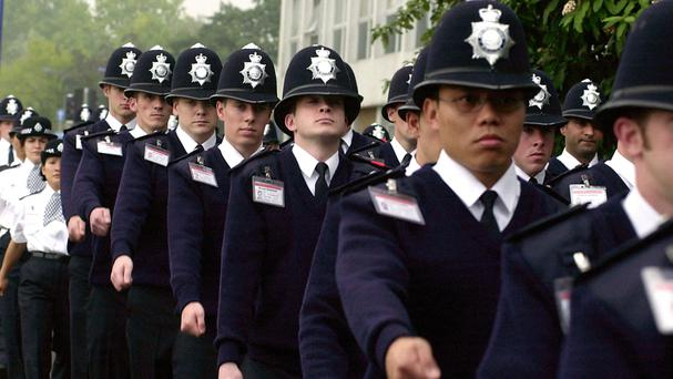 There are calls to make police recruitment more consistent across the forces