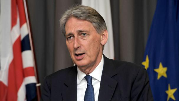 Philip Hammond said informal discussions were already taking place with other EU member states about the possible terms of Britain's withdrawal