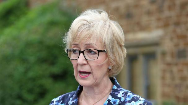 Andrea Leadsom insisted she believed that everyone has an equal stake in society, after he controversial comments on being a mother