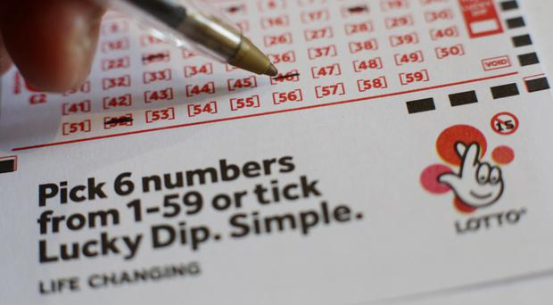 Nobody picked the right Lotto numbers, so their will be a rollover, Camelot said