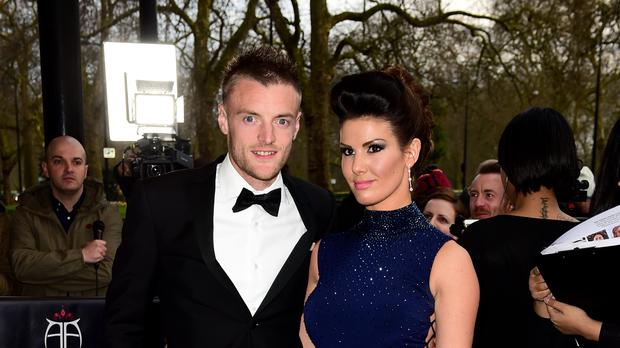 Becky Vardy - pictured with Jamie - said she now wants to help other victims of abuse