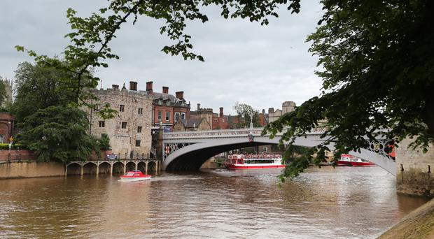 Police are searching the River Ouse for the mising man