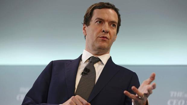 George Osborne is travelling to New York for talks with major investors
