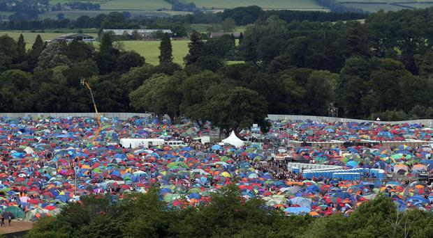 The attack is alleged to have taken place in the campsite at T in the Park