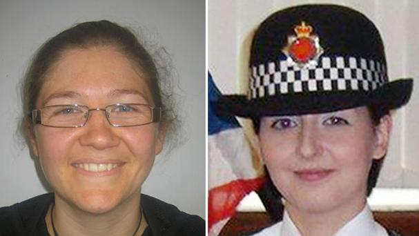 Pc Fiona Bone, left, and Pc Nicola Hughes (Greater Manchester Police/PA)