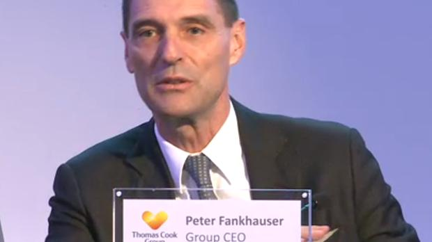 Thomas Cook chief executive Peter Fankhauser said abolishing APD would boost the competitiveness of British businesses