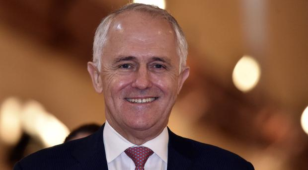 Australian prime minister Malcolm Turnbull wants to open up trading with Britain as a matter of urgency