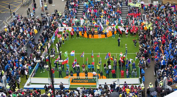 Glasgow has hosted the Homeless World Cup.
