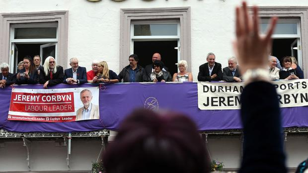 Dave Hopper helped organise Jeremy Corbyn's visit to the Durham Miners' Gala.