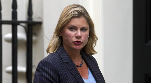 Justine Greening said she was