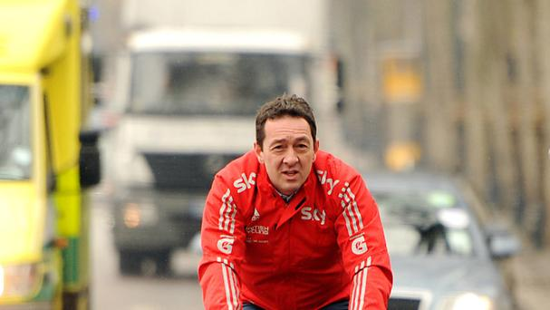 Chris Boardman paid tribute to his mother
