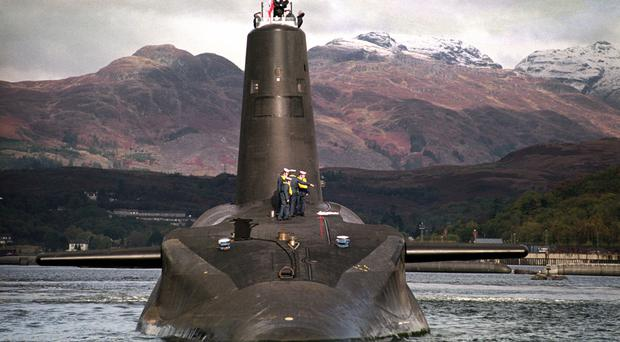 Theresa May has signalled her support for the UK's nuclear deterrent