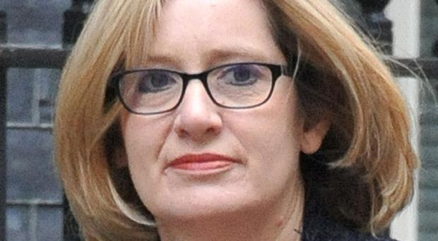 Amber Rudd said the threat from international terrorism in Britain remains at 'severe'