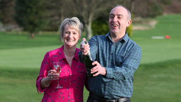 David and Carol Martin, from Hawick in the Scottish Borders, won half of a historic £66 million lottery jackpot