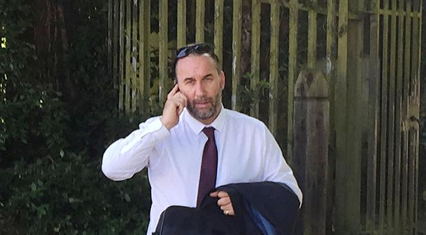 Stephen Ackerman in on trial at Snaresbrook Crown Court accused of defrauding West Ham players and staff by selling them Christmas hampers which were never delivered
