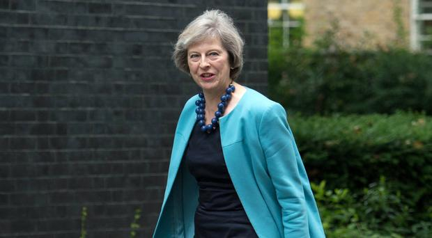 Theresa May will hold talks on Brexit with French president Francois Hollande