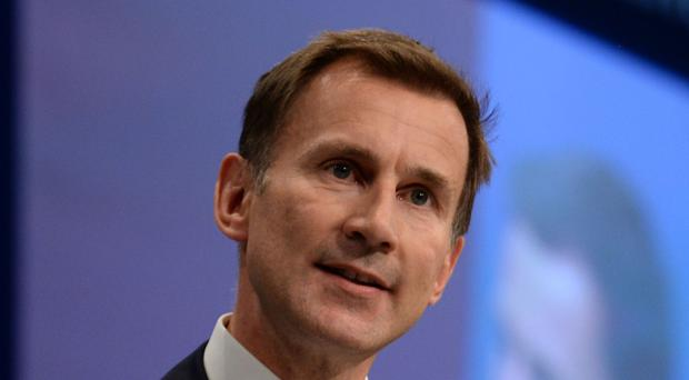 Health Secretary Jeremy Hunt is accused by campaigners of acting outside his powers