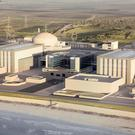 AN artist's impression issued by EDF of plans for the new Hinkley Point C nuclear power station.