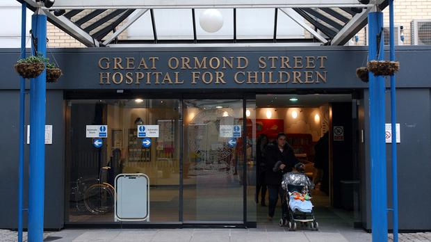 Great Ormond Street Hospital said there is a