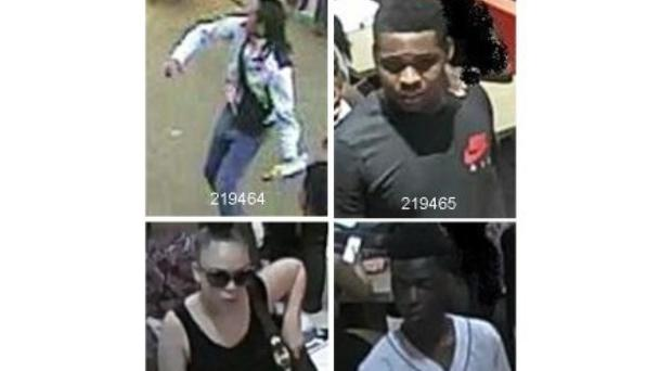 Detectives are appealing for assistance from the public in helping to identify these individual who were involved in the disorder (Metropolitan Police/PA)