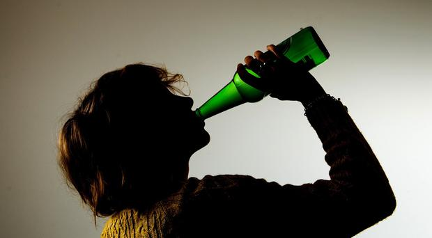 Alcohol and cancer: Strong evidence of a direct, harmful effect of drinking (Picture posed by model)