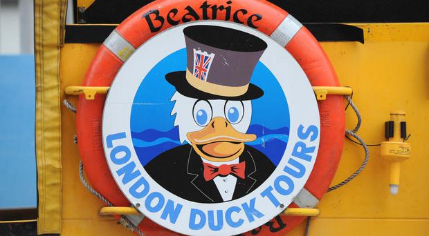 London Duck Tours take in the capital's sights by road and river