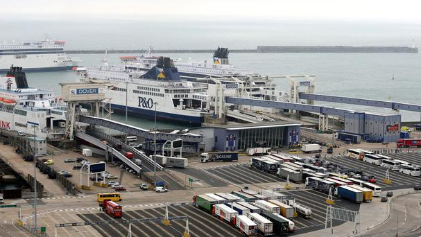 Increased security at Dover has caused long delays