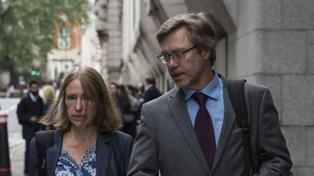 John Letts and Sally Lane, the parents of Muslim convert