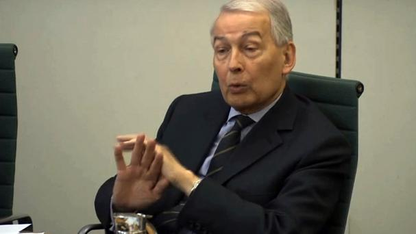 MP Frank Field has written to Prime Minister Theresa May about his concerns