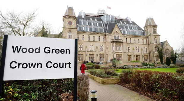 Daniel Rodriguez, also known as Grimey D, is being sentenced at Wood Green Crown Court