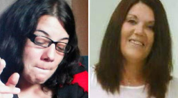 Jodie Betteridge (left) and Lynne Freeman were killed by Alan Bennett in two separate attacks just minutes apart in Redcar (Cleveland Police/PA)