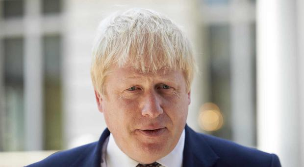 Boris Johnson has held talks in Paris with his French counterpart Jean-Marc Ayrault