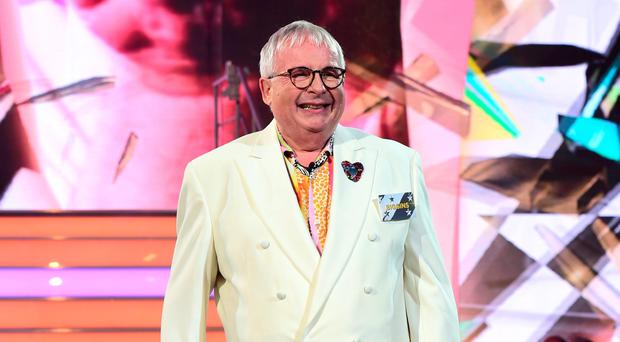 Christopher Biggins enters the Big Brother house