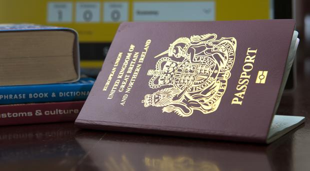 A minister said there are no plans to change the British passport