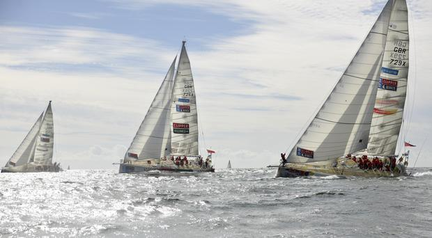 London will host the finishing parade of the Clipper Round the World Race