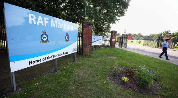 The attempted abduction happened outside RAF Marham
