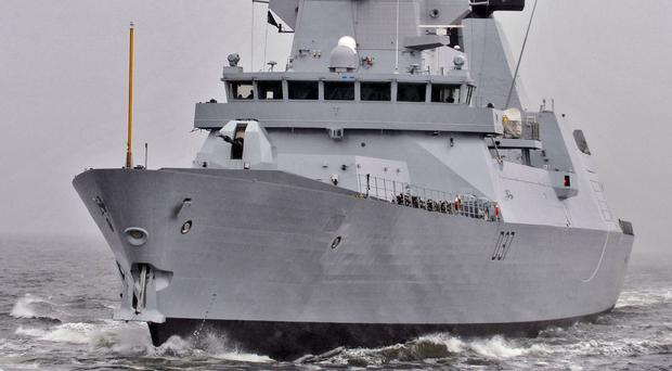 HMS Duncan, one of the Royal Navy's six Type 45 destroyers