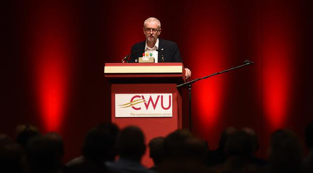 Jeremy Corbyn is expected to win the backing of the CWU.
