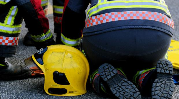Firefighters say they do not have the training to deal with traumatic injuries