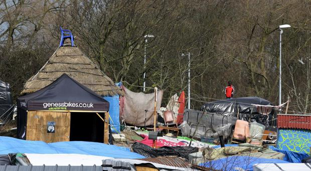 The refugees had been living in the Calais migrant camp known as the Jungle.