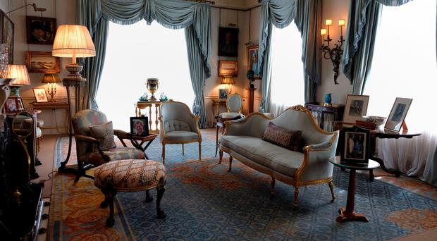 The Morning Room in Clarence House