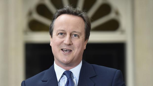 A cronyism row has erupted following the apparent leak of David Cameron's resignation honours list