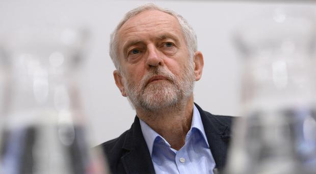 Labour leader Jeremy Corbyn addressed 1,000 supporters at a rally in Brighton