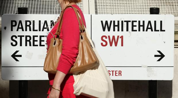 A think-tank has called for 25,000 civil servants to be moved out of London