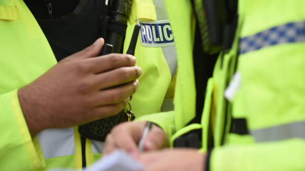 A motorist has been charged with five offences after a car was driven at a police officer in Grays